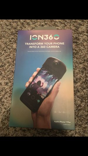 ION 360 Camera for the iPhone 7+ / 8+ for $30 brand new!!! for Sale in Orlando, FL