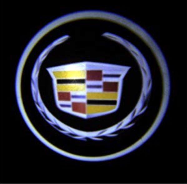 Cadillac Door Emblems Lights