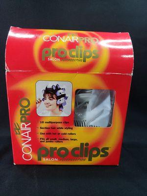Photo Conair Hair ProClips. Salon Accessories