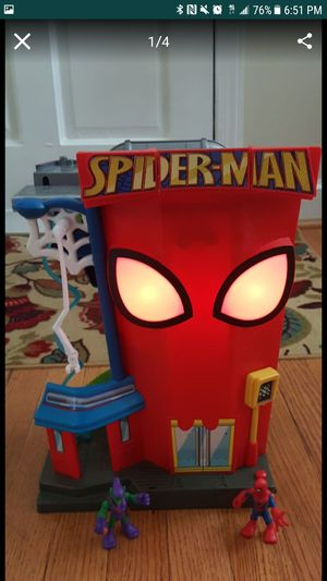 Foldable Spider Man play set for Sale in Arlington, VA