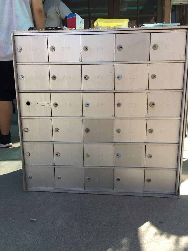 Residential Cluster Mailbox Units (2) for Sale in Mesa, AZ - OfferUp