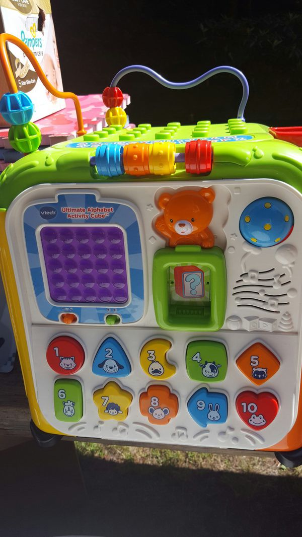 Vtech Ultimate Alphabet Activity Cube For Sale In Bonney Lake Wa Offerup