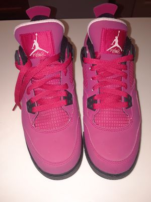 Girls air jordan 4 retro 7y for Sale in Fort Belvoir, VA
