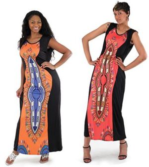Traditional print dress for Sale in Fairfax, VA