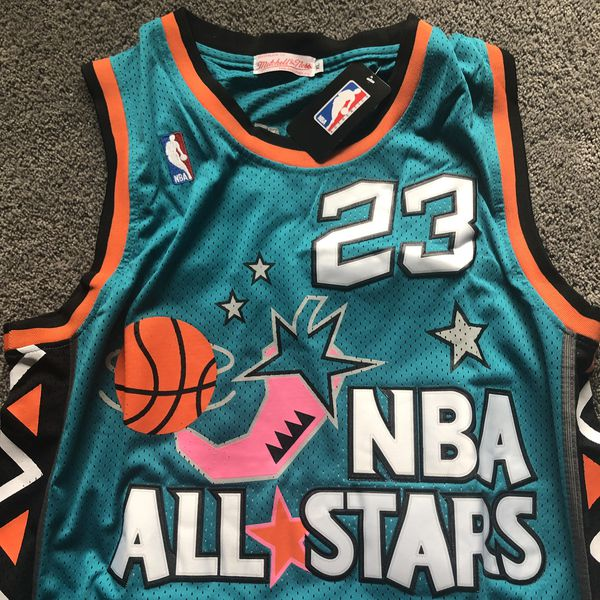 95259b5d795c Michael Jordan  23 All-Star  96 Throwback Mitchell   Ness Jersey - Size  Large (L) Meet Now or Ships Same Day! 🏀 💨
