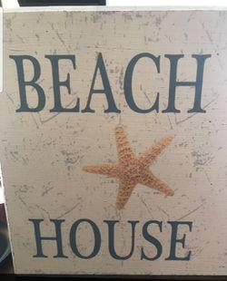 Beach House Picture Frame Decor Thumbnail