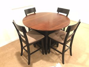 Dining Table Set - Round Drop Leaf for Sale in Arlington, VA