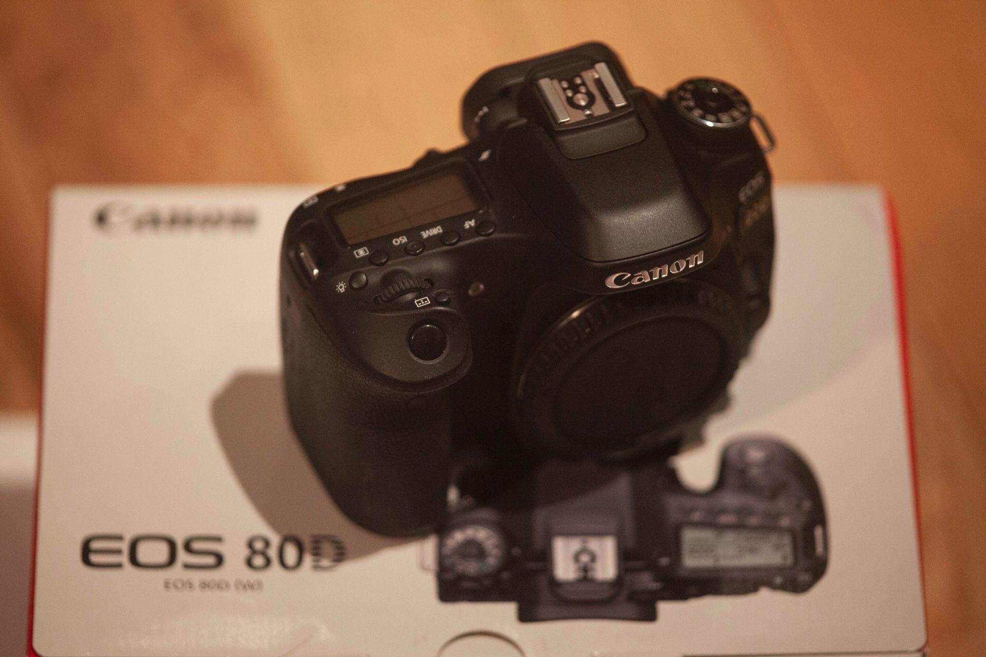 Canon EOS DSLR D80 Shutter Count ~5400 !!