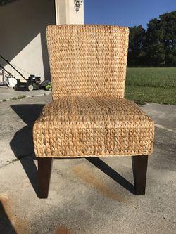 Wicker chair Thumbnail