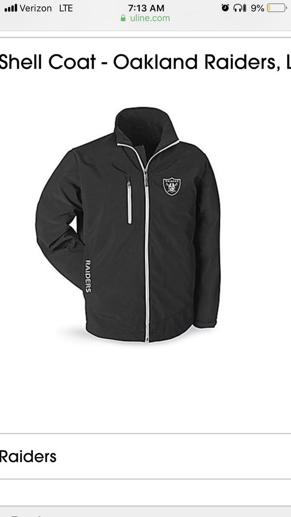 reputable site 63b58 6cd6f Official NFL Raider soft shell jacket for Sale in Union City, CA - OfferUp