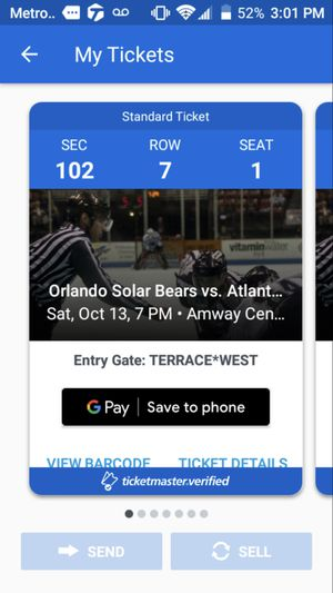 Solar bears tickets for Sale in Orlando, FL