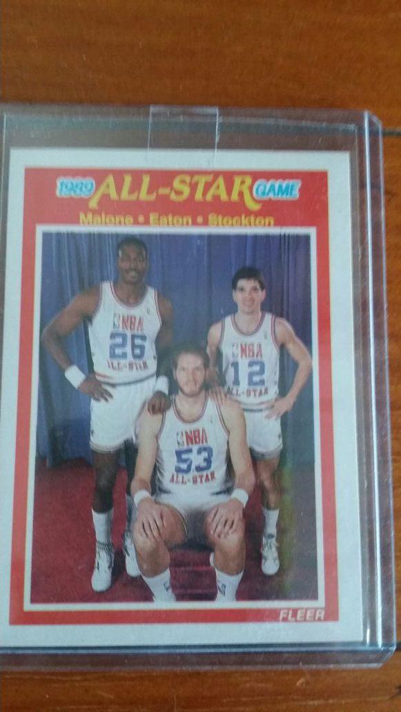 pretty nice add68 bb9f9 John Stockton, Karl Malone, and Mark Eaton Basketball Card for Sale in Las  Vegas, NV - OfferUp