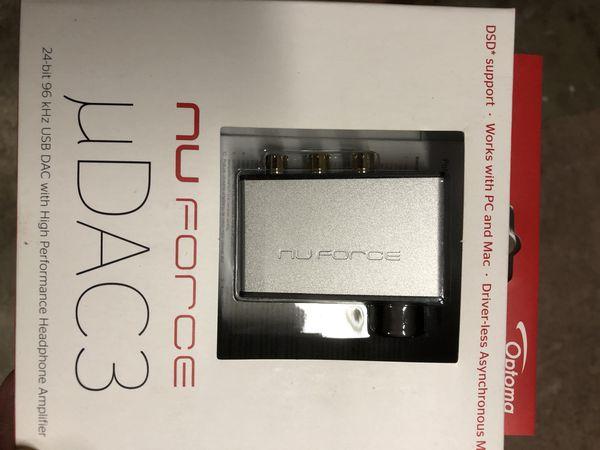 Nuforce USB dac headphones amp dsd for Sale in Renton, WA - OfferUp
