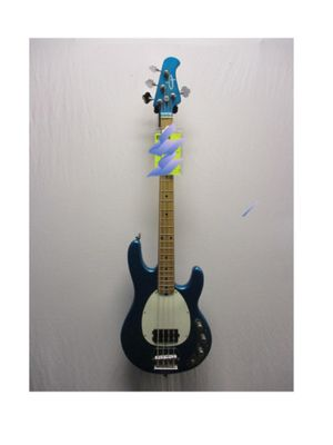 UsedOLPMM2 Electric Bass GuitarBlue for Sale in Diamond Bar, CA