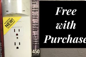 Wallplate Surge Protector for Sale in Baltimore, MD