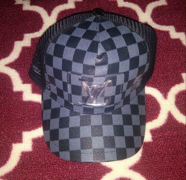 8204eaedc624e Louis Vuitton Hat - Black   Gray Snapback - Brand New for Sale in ...