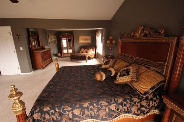6 Pc Pulaski Bellissimo King Size Bedroom Set For Sale In