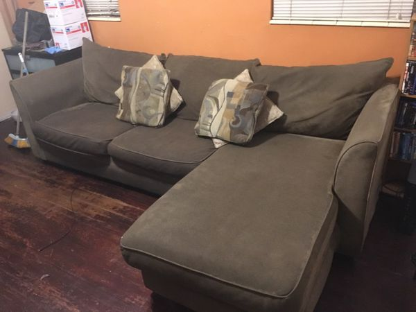 3 Piece Jennifer Convertibles Sofa Bed With Chase And Chair