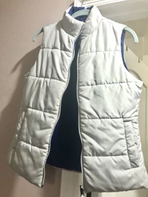 Vest double face gray and blue for Sale in Haymarket, VA