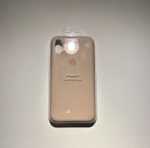 Original Apple iPhone X silicone case for Sale in McKinney, TX