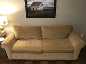 Couch and outdoor patio furniture for Sale in Alexandria, VA