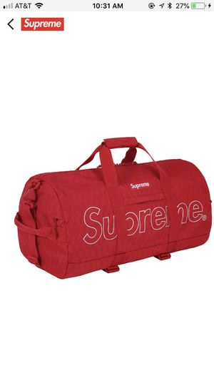 2238bd22f23 Supreme Duffle Bag FW18 - Red for Sale in Irvine