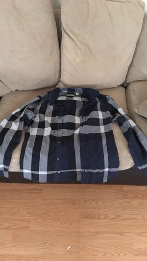 Real Burberry Long Sleeve Button Up for Sale in Washington, DC