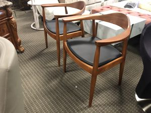 Set of 2 president accent chairs for Sale in Lincolnia, VA