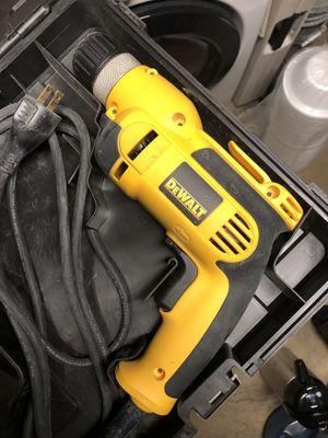 """DeWalt DWD110K 3/8"""" Keyless Chuck Drill Kit for Sale in Montebello, CA"""