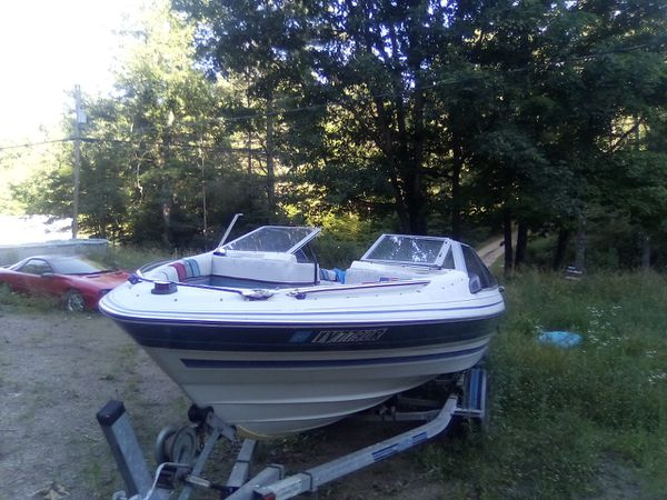 1987 20 foot 125hp outboard bayliner