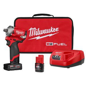 Milwaukee M12 Fuel ½ Stubby Impact Wrench for Sale in Fairfax, VA
