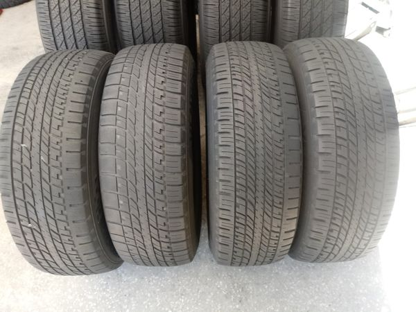 4 Used Tires 235 65 18 120 The Price Included Mount And Balance