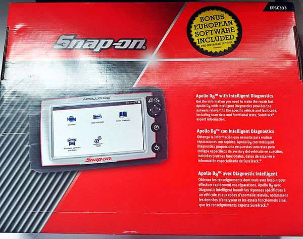 Brand new Snap-on Apollo d8 diagnostic tool with intelligent Diagnostics  Scanner $15k for Sale in South San Francisco, CA - OfferUp