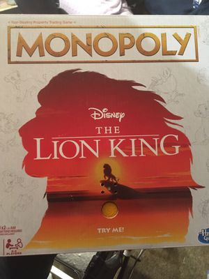 Photo Monopoly: Lion King edition