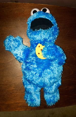 Photo Talking and vibrating Cookie Monster