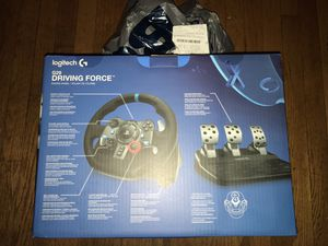 Logitech G29 Driving Force Racing Wheel Ps4 for Sale in New York, NY