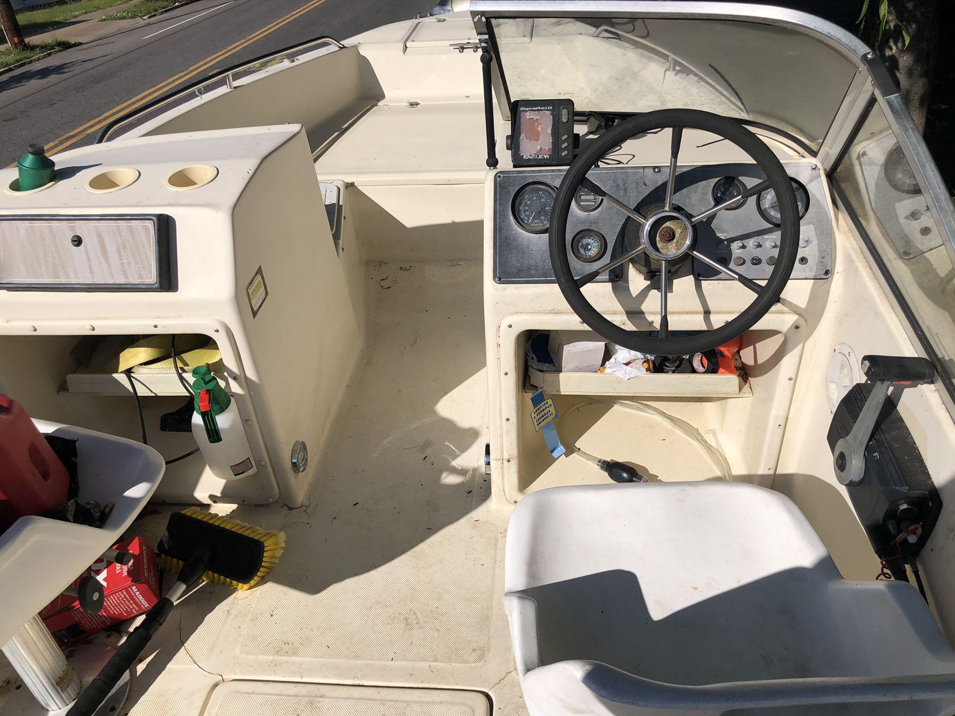 Photo Scout 172 Dorado 1993 17.2 Ft Dual Consol Fishing Boat