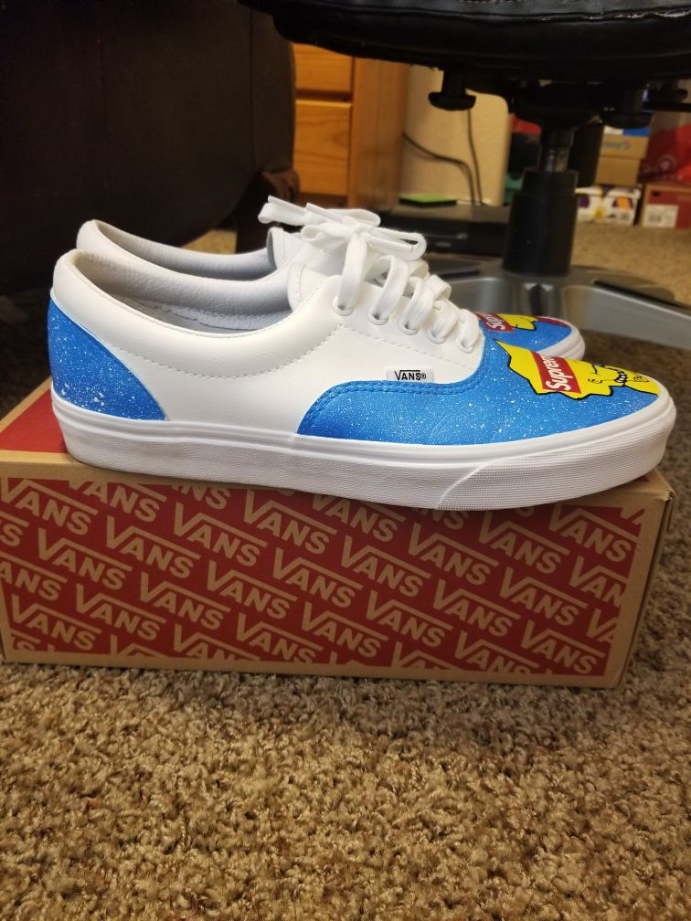 Custom supreme Van's
