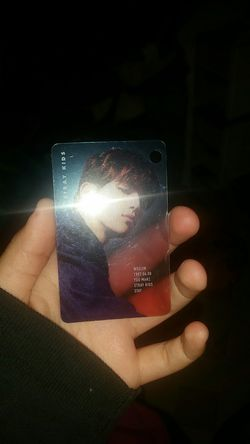 Woojin stray kids kpop key chain card Thumbnail