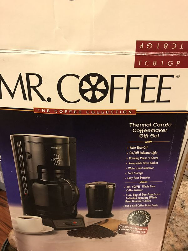 Mr Coffee Thermal Carafe Coffee Maker for Sale in Suisun ...