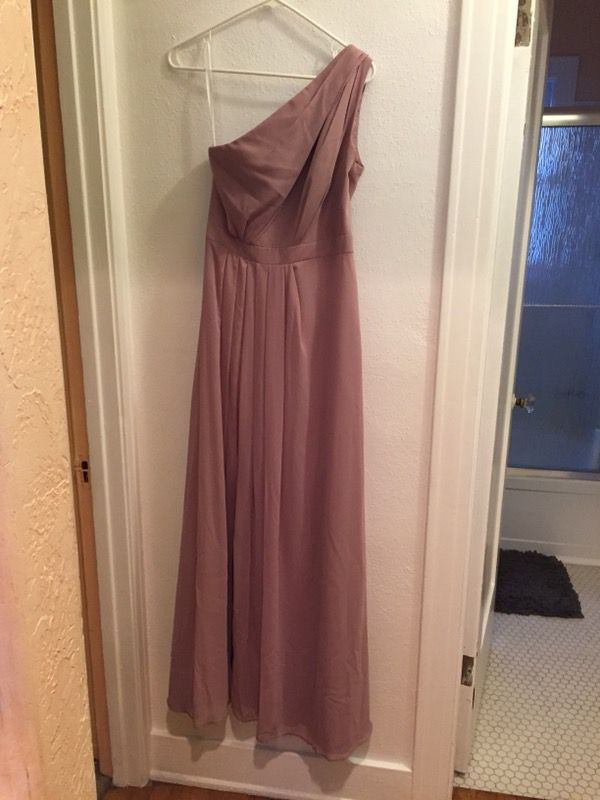 4aa7ae1c91a Davids Bridal bridesmaid dress - size 6 for Sale in San Diego