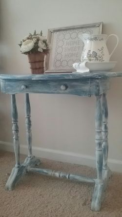 Rustic entry side table Thumbnail