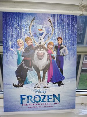 Frozen poster book for Sale in Cleveland, OH