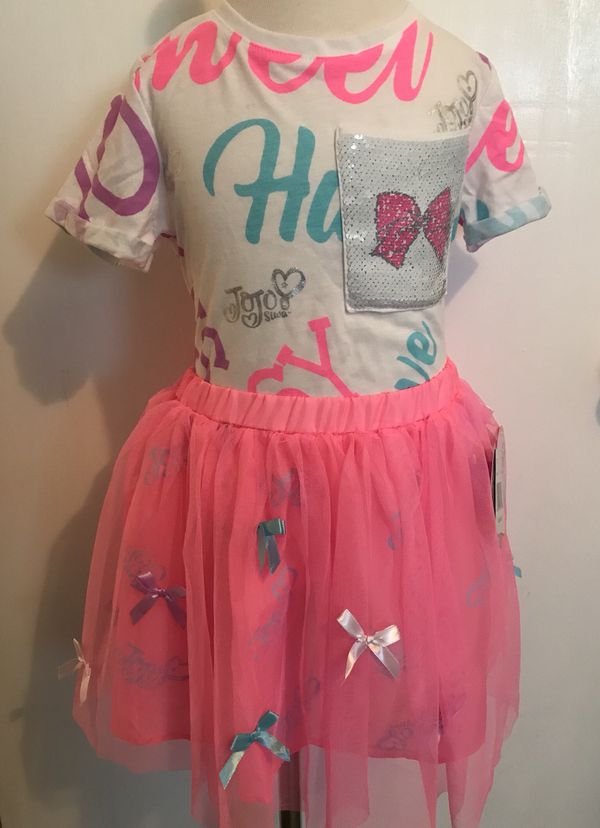 Jojo Siwa Birthday Girl Outfit Set