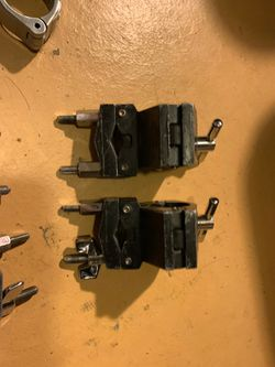 Gibraltar Road Series Drum Rack Right Angle Clamp and others Thumbnail