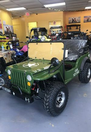 Coolster 125cc semi-auto army jeep on sale for Sale in Dallas, TX