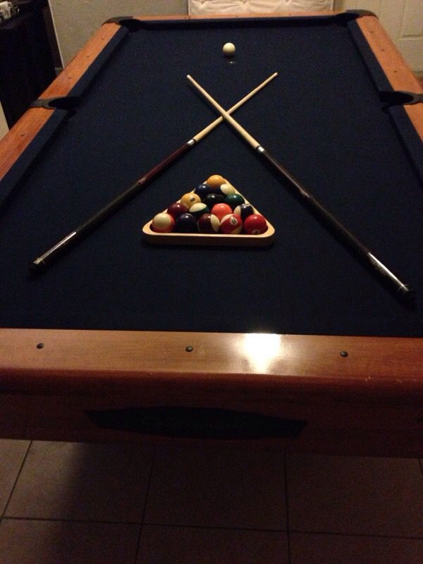Chicagoan Slate Pool Table For Sale In Pompano Beach FL OfferUp - Chicagoan pool table