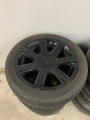 Photo Cadillac Escalade 22 inch oem factory wheels rims tires