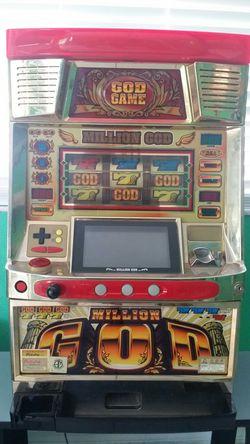 "Japanese slot machine ""million god"". Thumbnail"