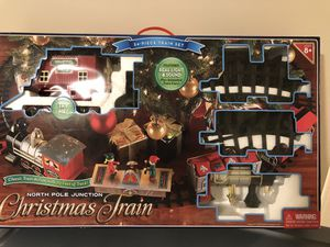 Christmas tree train 34 piece for Sale in West Springfield, VA